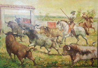 Exposicion pintura taurina Lopez Canito